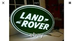 Land Rover Double Sided Illuminated Sign Garage Dealership 90 110 Off Road 2