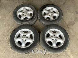 Land Rover Freelander Mk1 Alloy Wheels 215/65 16 Set Off Four