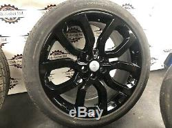 Land Rover Range Rover Sport 275/40r22 Set Off 22 Inch Alloy Wheels With Tyres