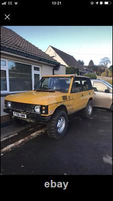 Land Rover Range Rover bobtail classic td5 challenge truck off roader 4x4