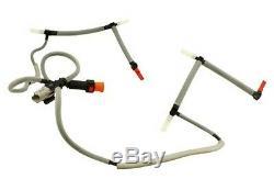 Land Rover Range Sport Lr3 Lr4 Leak Off Pipe Tube & Sensor 1386505 Oem New