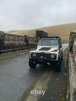Land Rover defender 110 station wagon 200tdi galv chassis bulkhead off road 4x4