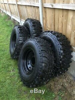 Land Rover defender off road wheels and tyres