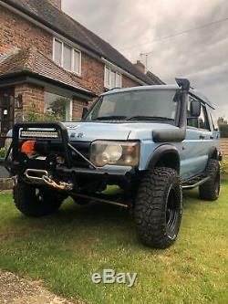 Land Rover discovery 2 td5 off roader warn Ashcroft expedition