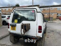 Land Rover off road use