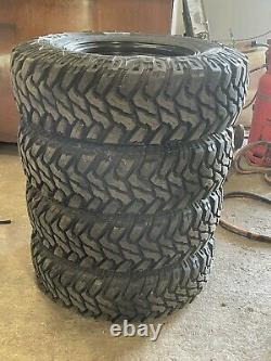 Land Rover off road wheels and tyres