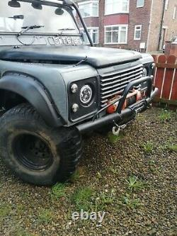 Land rover 2a defender hybrid off road tax and mot exempt