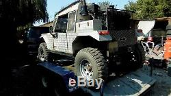 Land rover buggy off broader jeep v8 lpg auto & trailer