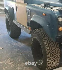 Land rover defender steel wheels and tyres 4 off BFGoodrich All terrain 1 Kumho