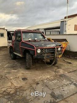 Land rover discovery 2 off road
