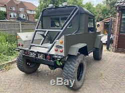 Land rover series 1961 3.5 v8 monster truck challenge truck off roader 4x4/
