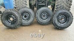 Land rover wolf wheels, insa turbo 750/16 off road tyres tires