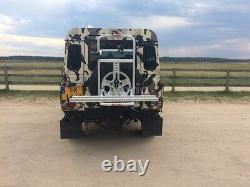 Landrover Defender Spare Tire Bike Rack Off-Road Vehicles FABBRI GRINGO BICI