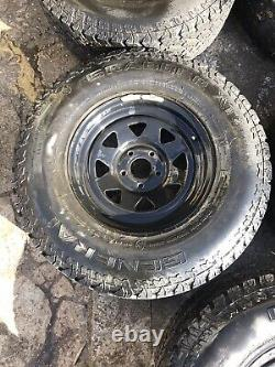 Landrover Discovery 2 Off Road Wheels Set Of 5 Lt265/75 R16