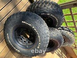 Landrover defender/discovery 1 4x4 off road bf good rich mud terrain tyres