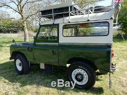 Landrover series 2a 88 Overlander camper 1967 off road expedition ready bug out