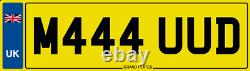 Mud Dirt Number Plate M444 Uud Jeep 4x4 Defender Landrover Trail Off Road Muck