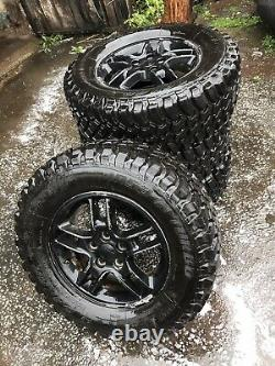 Mud Terrain Tyres 17 On Landrover Rims Rare Find, Off Roader