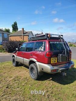 Nissan terrano 2 TDI se+ modified 4x4 needs repair off road not land rover