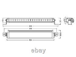 OSRAM LEDriving Arbeits und Zusatzscheinwerfer FX500-CB SM LEDDL104-CB SM