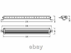 OSRAM LEDriving Lightbar Arbeits und Zusatzscheinwerfer VX500-SP LEDDL116-SP