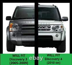 Off road rock slider kit for Land Rover Discovery 3 4 Side Steps tree bars tubes
