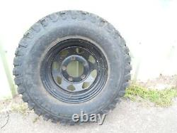 Off road wheels and tyres x 5 suitable for LandRover series/lightweight/defender