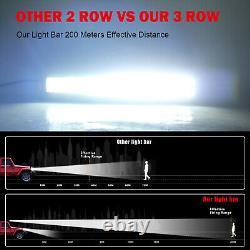 Offroad 52 inch Straight Led Light Bar 2275W Spot Flood Combo Beam Driving Lamp