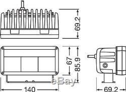 Osram 6 LED Light Bar Fernscheinwerfer und Positionslicht Spot 12V ECE