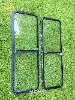 Pair Of Sliding Side Window Off & Near Side For Land Rover Camper Van