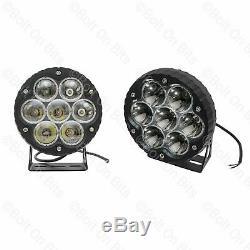 Pair of XS Lynx 6.5 LED Spot Lights 12V/24V Adventure 4X4 Off Road