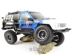 RC Rock Crawler Truck Jeep 110 Scale 4x4 4WD Off Road Land Rover Cherokee Car
