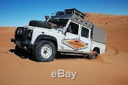 Radlaufecken Land Rover Defender 130, Riffelblech Ladefläche RRC6362 u. RRC6363
