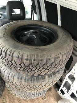 Range Rover Classic Land Rover Rostyle Wheels BF Goodrich Off Road Tyres 16 X5