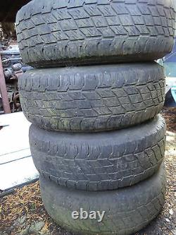Range Rover Original X4 Winter Alloy Wheels Off Road Camper Wheel Set Matt