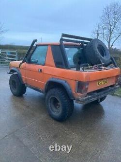 Range rover classic offroader