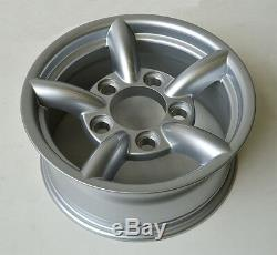 Raptor 4x4 5 Pipe Alloy Wheels 7x16 Set of 4 Land Rover Defender Off Road Rims