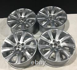 Set Of 4 Discovery Sport 18 Alloy Wheels 8jx18ch 45 Off Silver