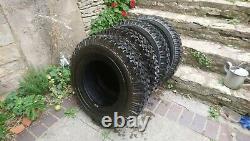 Set of Michelin XZL and Lassa 7.50 R16 116N Tyres Land Rover Series