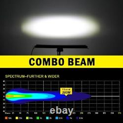 Slim LED Light Bar Offroad8/14/22/32/52inch Led Bar Spot Flood 12V 24V Combo