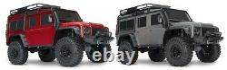 Traxxas 82056-4 TRX-4 Land Rover Defender Red 110 4WD Rtr Crawler Tqi 2.4GHz