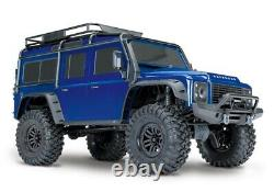 Traxxas 82056-4 TRX-4 Land Rover Defender blau 110 4WD RTR Crawler 2.4GHz