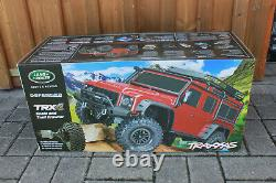 Traxxas 82056-4 TRX-4 Red Crawler Land Rover Defender 110 Rtr