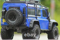 Traxxas 82056-4 TRX-4 blau Crawler Land Rover Defender 110 RTR