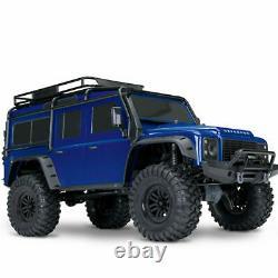 Traxxas TRX-4 110 Land Rover Defender 4x4 Crawler Rtr Blue TRX82056-4BLUE