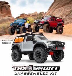Traxxas TRX-4 Sport Bausatz Pickup Scale Crawler Kit 82010-1 incl. Anbauteile