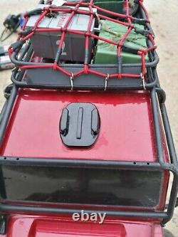Traxxas TRX4 1/10 Trail Crawler Land Rover Defender Radio Controlled Car Red