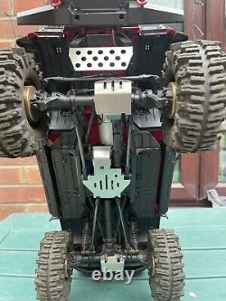 Traxxas Trx-4 Land Rover Defender Truly One off Build + Lots of Upgrades