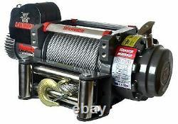 WARRIOR 9500lb SAMURAI 12v PERFORMANCE OFFROAD WINCH 950VS12