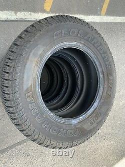 X4 235 70 16 Yokohama Geolander G015 Tyres Off Road All Terrain 4x4 Land Rover